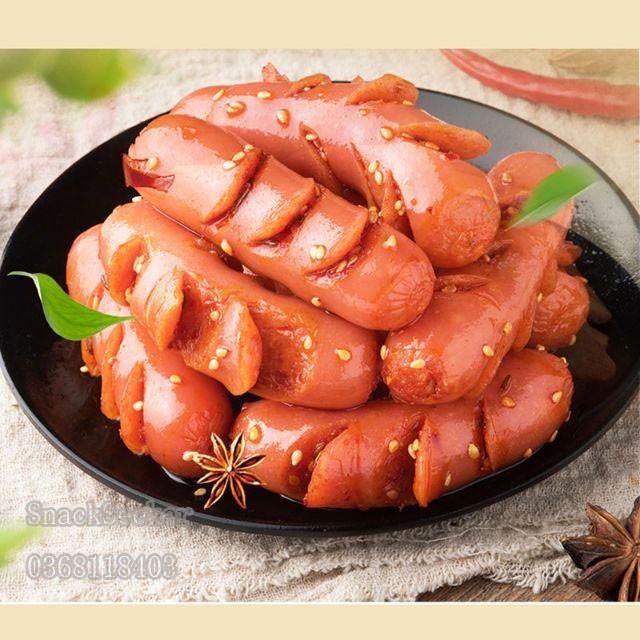XÚC XÍCH - Gói 20g- Đồ ăn vặt Trung Quốc- Thơm ngon - SNACK SEEKER-đồ ăn vặt ngon, bổ ,rẻ