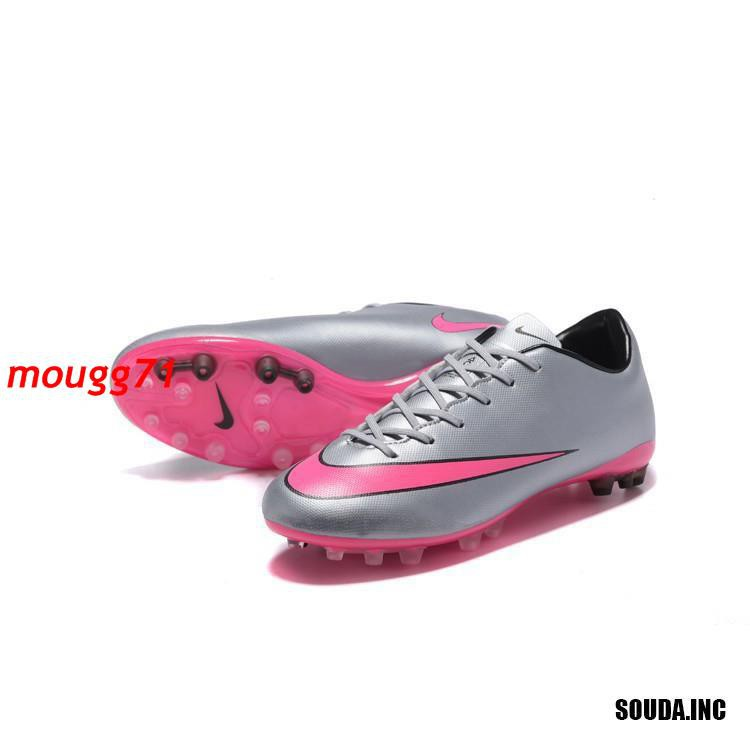 Nike Mercurial Victory V AG รองเท้าฟุตบอลสีเทา