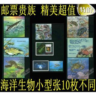 Bộ 10 Con Dấu Hình Động Vật Biển