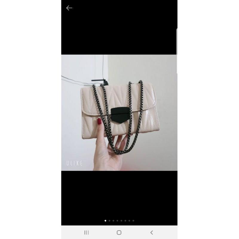 (A3) Túi trầm trám da mềm xích đặc mẫu mới