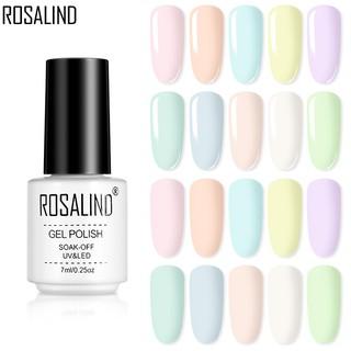 Gel Sơn Móng Tay Màu Sắc Ngọt Ngào Rosalind 7ml