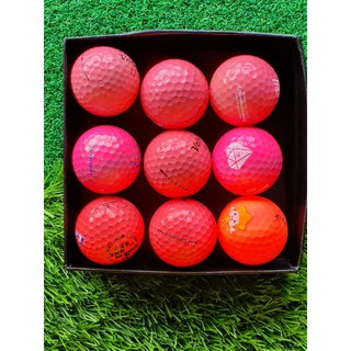10 quả Bóng golf MÀU đủ các thương hiệu thumbnail