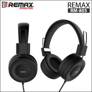 Tai Nghe Chụp Tai Remax RM-805 có mic cho máy tính điện thoại Dành Cho Game Thủ Và Nghe Nhạc Cực Đỉnh