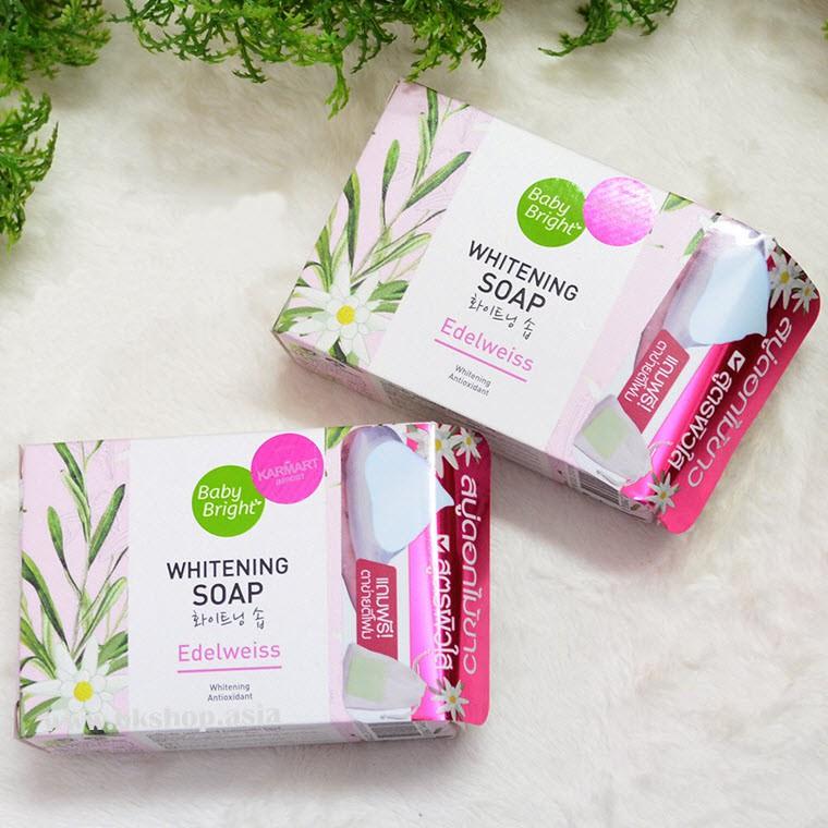 SOAP TRẮNG DA EDELWEISS WHITENING SOAP BABYBRIGHT [MẶT] - 3512524 , 1089712222 , 322_1089712222 , 70000 , SOAP-TRANG-DA-EDELWEISS-WHITENING-SOAP-BABYBRIGHT-MAT-322_1089712222 , shopee.vn , SOAP TRẮNG DA EDELWEISS WHITENING SOAP BABYBRIGHT [MẶT]