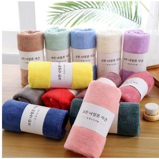 Khăn Tắm hàn quốc vải cotton siêu thấm kháng khuẩn bảo vệ sức khỏe
