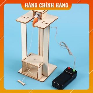 [Free Ship – Hàng Chính Hãng] Combo 2 bộ đồ chơi khoa học DIY: Thang máy + cánh tay thuỷ lực – để trẻ tự học STEM