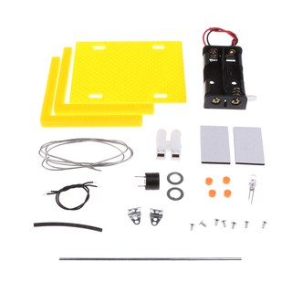 DIY Assembled Analog Circuit Warning Device Experiments Physical Kids Toy