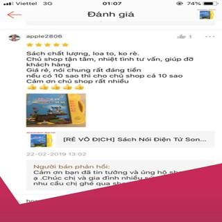 [Giảm 9k cho đơn từ 99k] Sách Nói Điện Tử Song Ngữ Anh- Việt Giúp Trẻ Học Tốt Tiếng Anh loại 1.