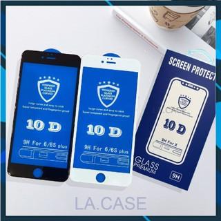 Kính cường lực iphone 10D Full 6/6s/6plus/6splus/7/8/7plus/8plus/x/xs/xs max/11/11pro/11promax/12/12pro/12promax [B01]