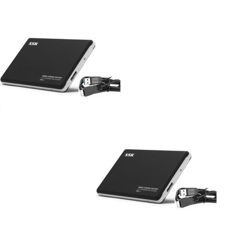 Bộ 2 Hộp đựng ổ cứng HDD Box 3.0 SSK HE-V300 2.5inch - 10083846 , 590870711 , 322_590870711 , 498000 , Bo-2-Hop-dung-o-cung-HDD-Box-3.0-SSK-HE-V300-2.5inch-322_590870711 , shopee.vn , Bộ 2 Hộp đựng ổ cứng HDD Box 3.0 SSK HE-V300 2.5inch