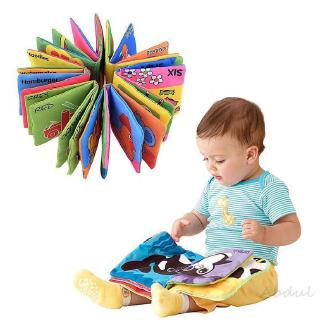 Baby Early Development Cognitive Cloth 76 Book