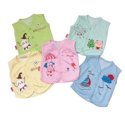 Áo Gile cotton 2 lớp cho bé