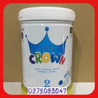 Sữa bột koko Crown 2 - 800g ( nhập khẩu) date 08 2021
