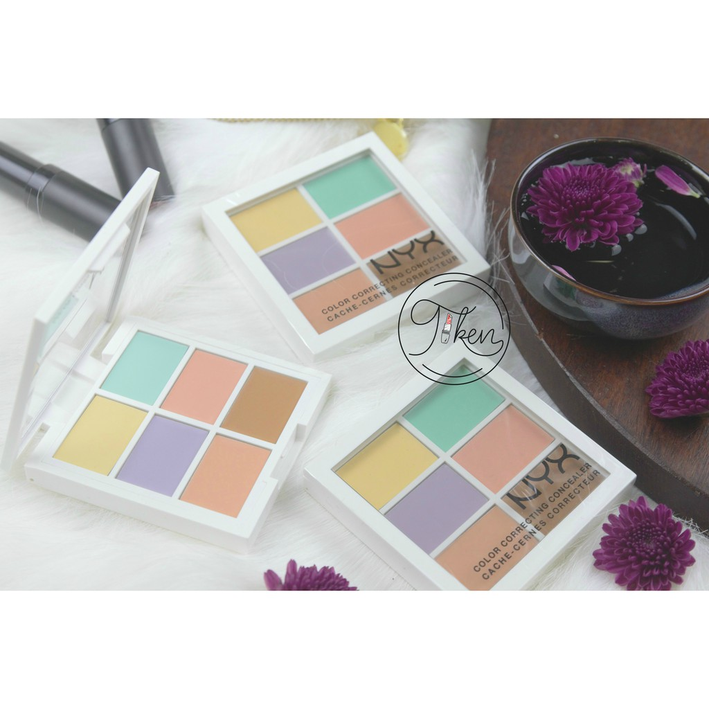 BẢNG CHE KHUYẾT ĐIỂM NYX COLOR CORRECTING CONCEALER