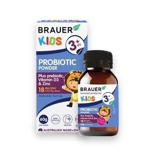 Brauer Bột men vi sinh cho trẻ từ 3 tuổi 60G