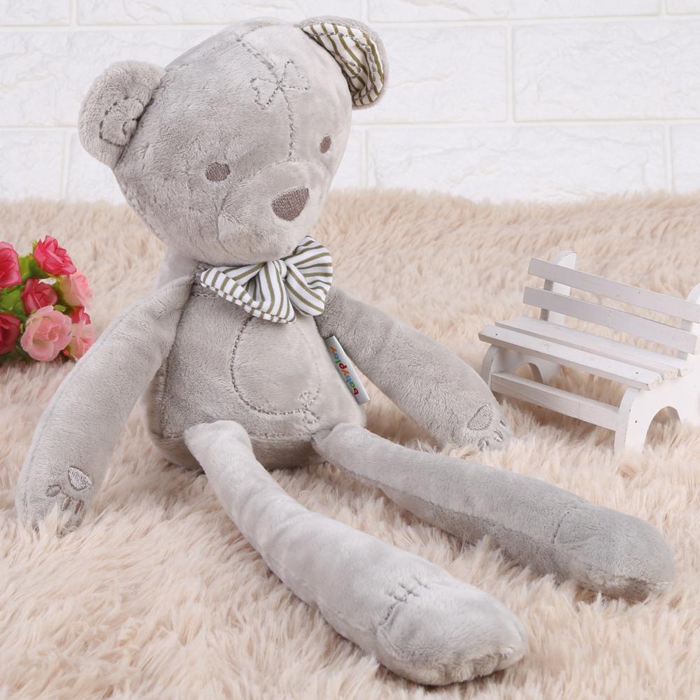 39cm Baby Comfortable Soft Stuffed Plush Doll Bear Calm Sleeping Toy Kids Gift