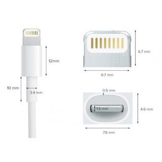 Cáp sạc Lightning FOXCONN 5V-1A iPad Airpods iPhone 6 6S 7 8 Plus X XS XS MAX 11 PRO MAX 3