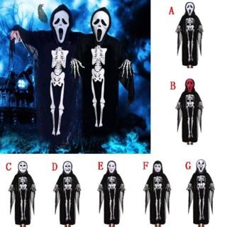 [Halloween] Set bộ Áo choàng xương