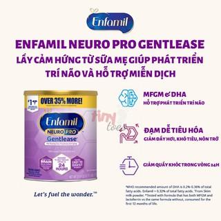 Sữa Enfamil Neuro Pro Gentlease dành cho bé nôn trớ – 777g