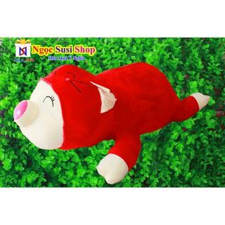 Thú Bông Con Heo Nằm Cute Size Lớn Cực To Khổ Vải 1m – Giá Cực Sốc – Gấu Bông Con Heo