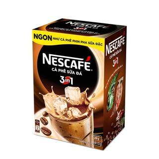 Hình ảnh [HN] Hộp 10 gói x 20g NESCAFE Café Cà phê sữa đá-3