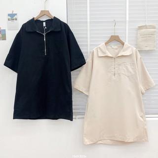 Váy phông polo cổ khoá Friday thumbnail