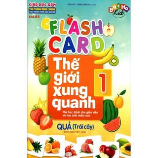 Flash Card - Thẻ Thế Giới Xung Quanh 1 - Quả (Trái cây)