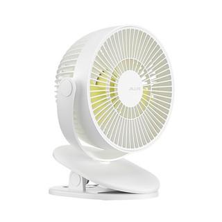 Quạt mini đế kẹp Jisulife FA18 không ồn, xoay tự động 360 độ, dùng liên tục lên tới 12h, vệ sinh dễ dàng_Bảo hành 12T
