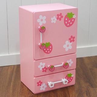 Tủ lạnh hồng mother garden