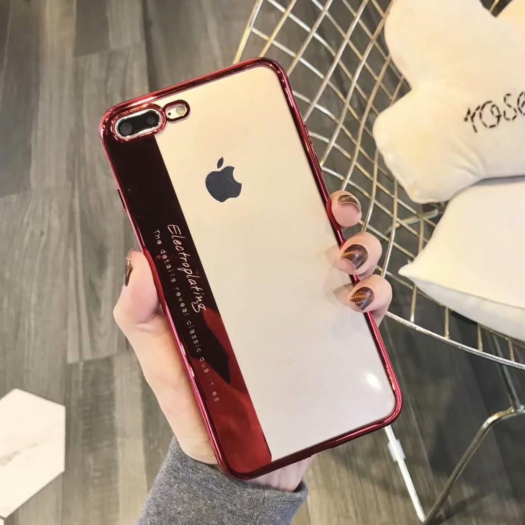 [ Rẻ vô địch ] Ốp lưng silicon dẻo iPhone 6/6plus/7/7plus/8/8plus/X (Tặng kính cường lực 3d full màn)