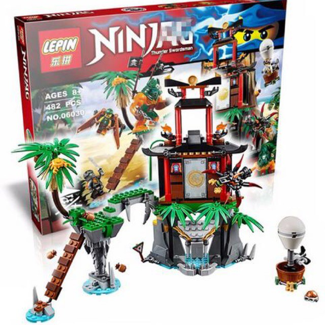 Giá Siêu Độc - Đồ chơi Lego ninja 06030 - cuộc chiến tại đảo hổ