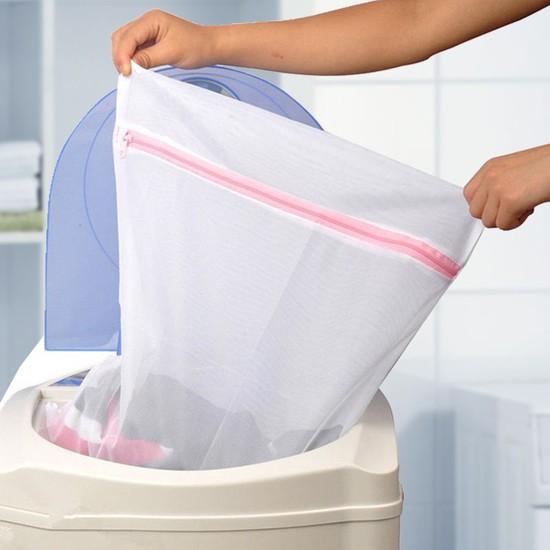 Túi giặt quần áo size to kích thước 50 x 60cm- Túi lưới giặt đồ tiện dụng