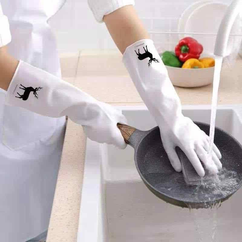Găng tay làm bếp siêu dai - chặt không đứt - xé không rách - hình con hươu con cò 01 đôi môi