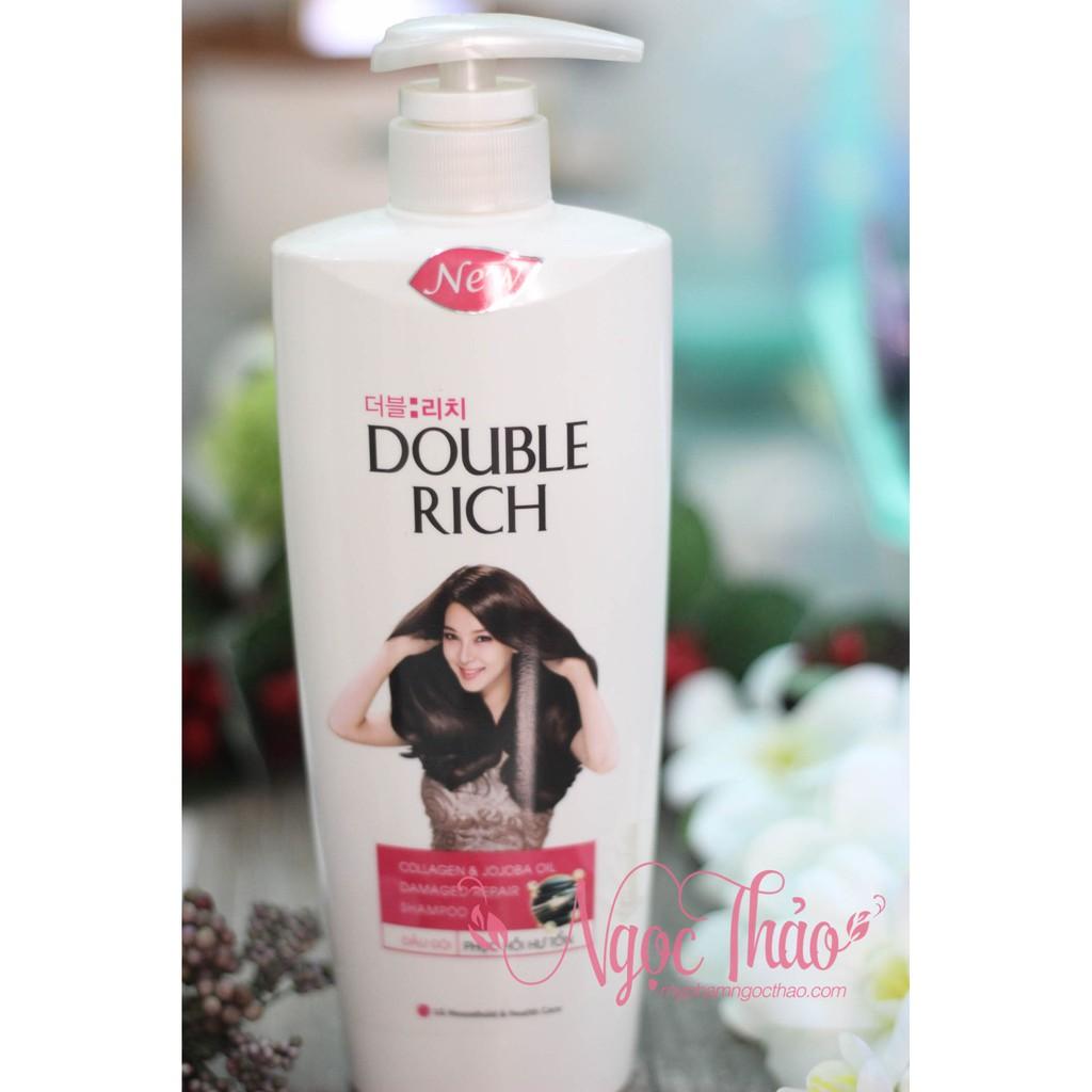 Dầu gội Double Rich Colagen tinh dầu JoJoba 550g - 3347249 , 960125621 , 322_960125621 , 105000 , Dau-goi-Double-Rich-Colagen-tinh-dau-JoJoba-550g-322_960125621 , shopee.vn , Dầu gội Double Rich Colagen tinh dầu JoJoba 550g