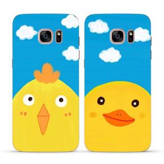 Vịt vàng dễ thương cho Samsung S8 S8 + S7 S6Edge