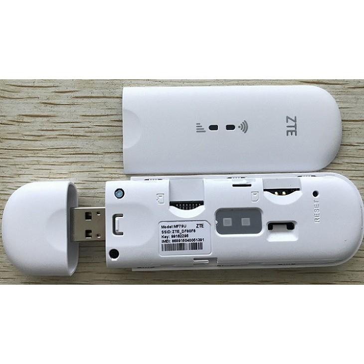 [Mã 267ELSALE hoàn 7% đơn 300K] {HOT} USB PHÁT WIFI 4G MF79U - DÙNG ĐA MẠNG