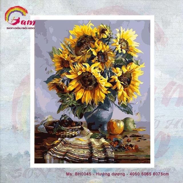 Tranh sơn dầu số hoá DIY tự vẽ - Bình hoa hướng dương - 40x50cm có khung - 3363152 , 860624732 , 322_860624732 , 220000 , Tranh-son-dau-so-hoa-DIY-tu-ve-Binh-hoa-huong-duong-40x50cm-co-khung-322_860624732 , shopee.vn , Tranh sơn dầu số hoá DIY tự vẽ - Bình hoa hướng dương - 40x50cm có khung
