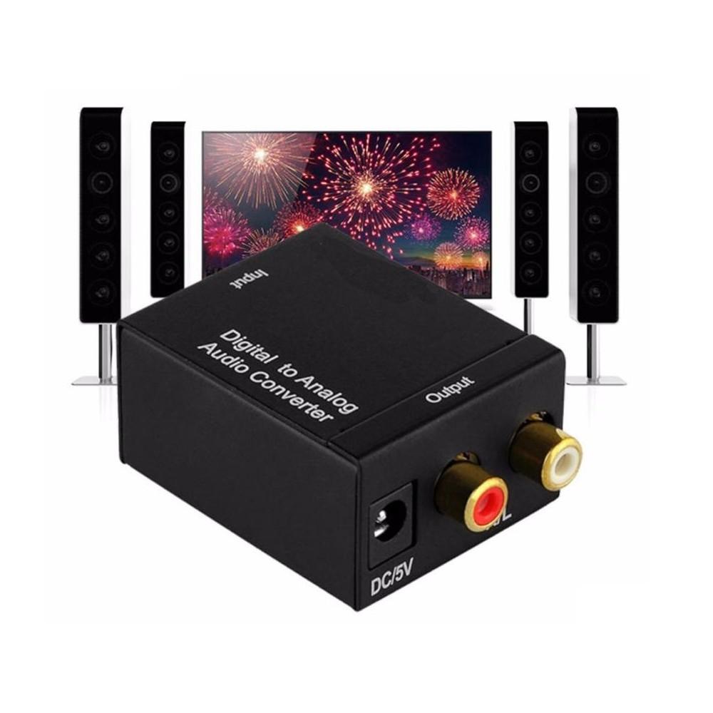 Bộ chuyển đổi âm thanh quang học optical sang AV ra audio tiếng to bảo hành 12t