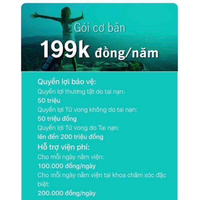 MANULIFE-KHỞI ĐẦU BẢO VỆ GÓI 199K/NĂM