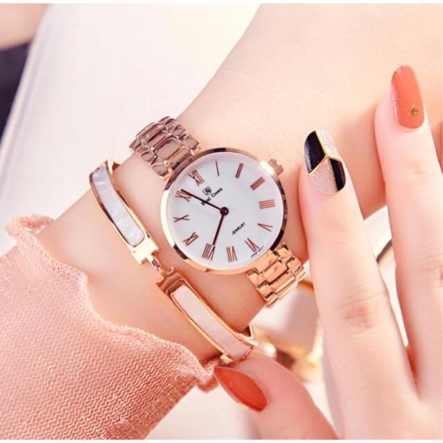 [HOT MODEL] Đồng hồ nữ chính hãng Royal Crown 2601 dây thép vỏ vàng hồng - 2920687 , 418275976 , 322_418275976 , 3899000 , HOT-MODEL-Dong-ho-nu-chinh-hang-Royal-Crown-2601-day-thep-vo-vang-hong-322_418275976 , shopee.vn , [HOT MODEL] Đồng hồ nữ chính hãng Royal Crown 2601 dây thép vỏ vàng hồng