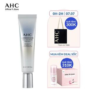Kem dưỡng mắt AHC Luminous Glow Eye Cream for Face 30ml thumbnail