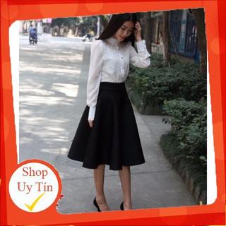 Chân váy vintage sắc màu CV19