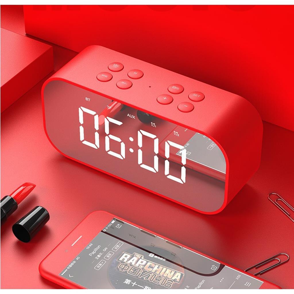 Loa bluetooth kiêm đồng hồ led báo thức 2 in 1 BT501 Rẻ-Đẹp-Chất Lượng thương hiệu AEC -dc3594