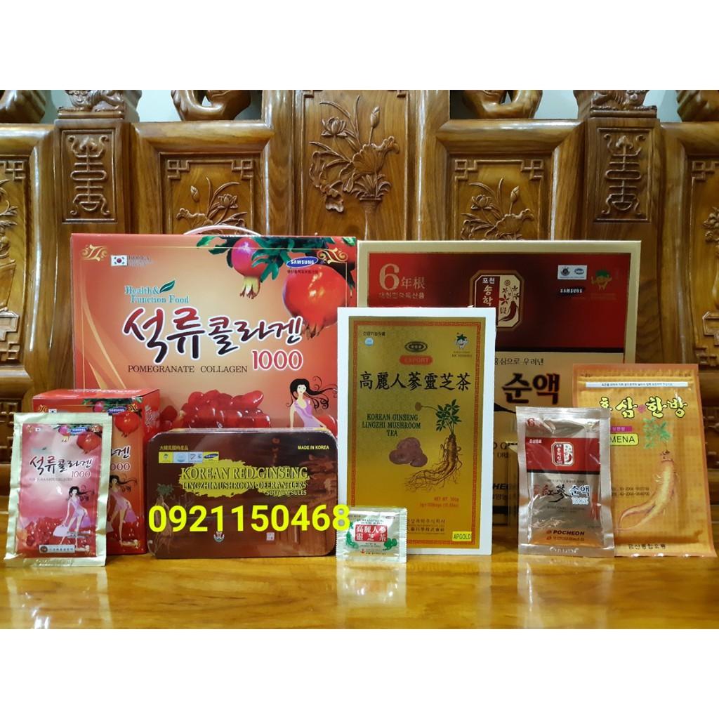 COMBO Nước lựu nước sâm 100% trà sâm linh chi cao dán sâm vàng viên đạm sâm linh chi nhung hươu - 2912713 , 1252782961 , 322_1252782961 , 1380000 , COMBO-Nuoc-luu-nuoc-sam-100Phan-Tram-tra-sam-linh-chi-cao-dan-sam-vang-vien-dam-sam-linh-chi-nhung-huou-322_1252782961 , shopee.vn , COMBO Nước lựu nước sâm 100% trà sâm linh chi cao dán sâm vàng viên
