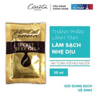 Gói dung dịch vệ sinh phụ nữ Cenota Secret Sexy Gel 10ml - C37A thumbnail