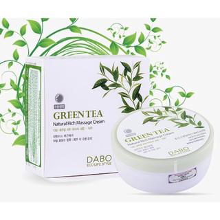 Kem masage da mặt DABO Natural Rich Massage Cream Green Tea Hàn quốc 200ml Hộp- Hàng chính hãng thumbnail