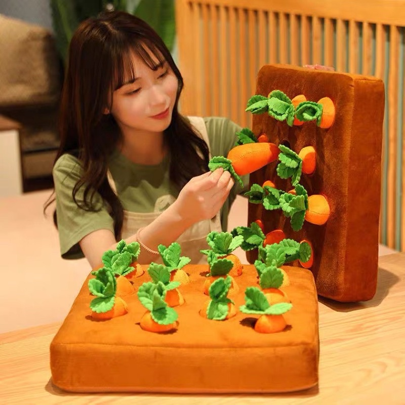 Đồ chơi khu vườn cà rốt