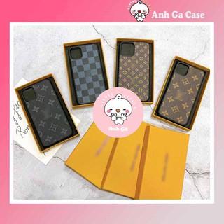 Ốp lưng iphone L V LÓT NHUNG XỊN  6splus/6/7/7plus/8/8plus/x/xs/xs max/11/11 pro/11 promax,Anh Ga Case