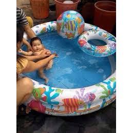 Bể bơi 3 tầng 3 chi tiết giá rẻ