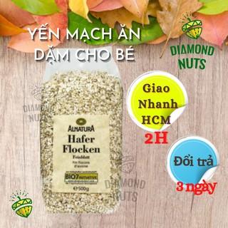 Yến Mạch Cho Bé ăn dặm 6 tháng cán vỡ chính hãng Hafer Đức 500g thumbnail